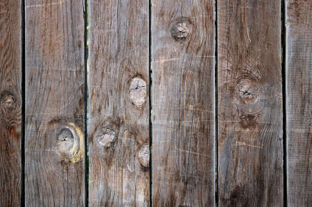 Front View of Vertical Patterned Old Wooden Plank Texture Imagens