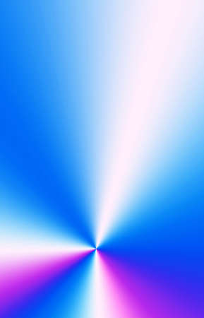 Vertical image of Gradient Royal Blue with Purple Ray Illustration for Abstract Background