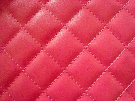 light skin: dark pink background Stock Photo