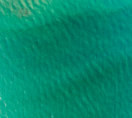 Sea seen from above, texture of waves. Banque d'images