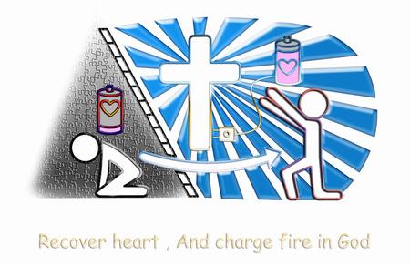 cristianismo: cristianismo cargo por jesus