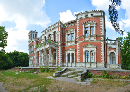Architectural monument - the manor of Vorontsov-Dashkov, the village of Bykovo, Moscow region, Russia