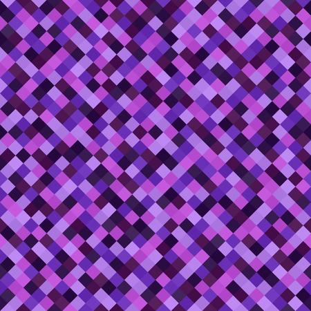 Diamond pattern. Seamless vector background with amethyst, lavender, plum, purple, violet diamonds