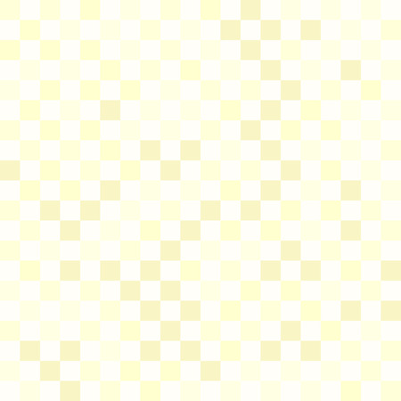 Yellow checkered pattern. Seamless vector checkerboard background with yellow squares on light backdrop