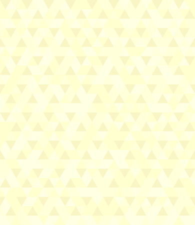 Yellow triangle pattern. Seamless vector background with light and dark yellow triangles Çizim