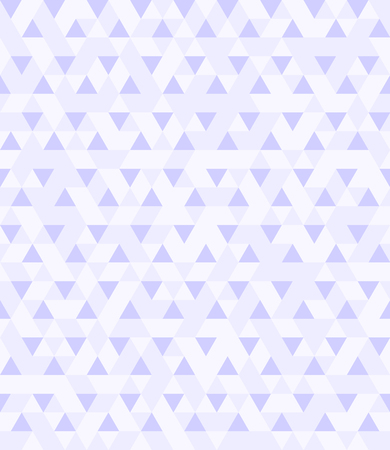 Triangle pattern. Seamless vector background with violet and light lavender triangles