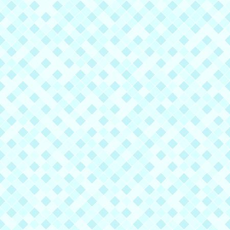 Modello di diamanti ciano . Vector senza soluzione di continuità . Diamanti di diamanti ciano di vettore su sfondo azzurro
