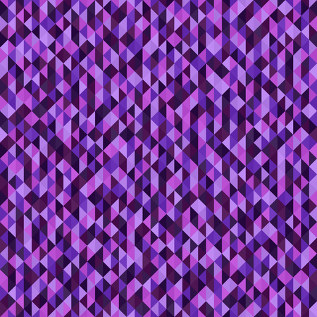 Triangle pattern. Seamless vector background with amethyst, lavender, plum, purple, violet triangles