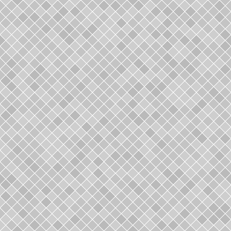 Diamond pattern. Seamless vector with gray lozenges on white backdrop
