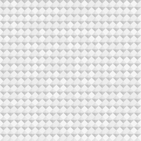diamond stones: 3D diamond pattern. Seamless vector background with gray triangles and light gray diamonds