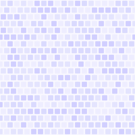 Seamless tile background with lilac squares on light lavender backdrop