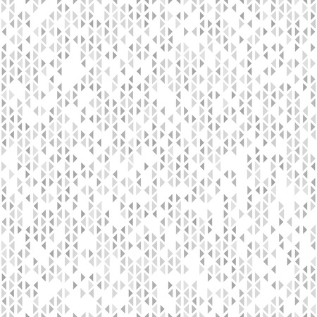 arsenic: Triangle pattern. Seamless vector geometric background with dark and light gray and white triangles on white backdrop