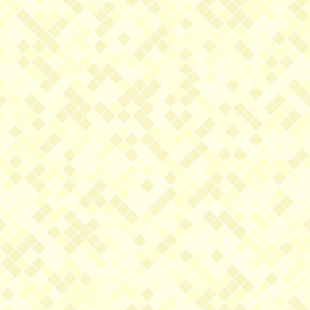 Diamond pattern. Seamless vector background: yellow diamonds on light yellow backdrop