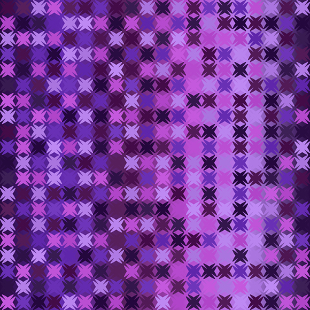 Abstract pattern. Seamless vector background - amethyst, lavender, plum, purple, violet shapes on gradient backdrop
