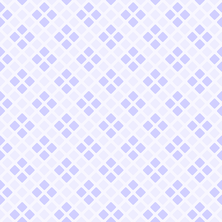 Violet rounded diamond pattern. Illustration