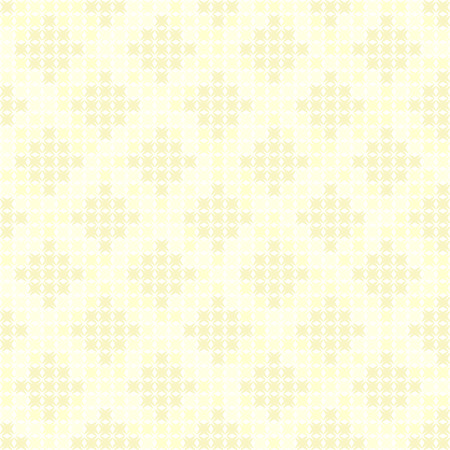Yellow abstract diamond pattern. Seamless vector background - dark and light yellow shapes on light yellow backdrop Illustration