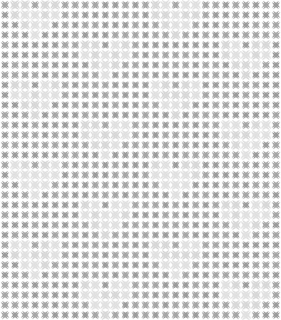 灰色の心抽象的なパターン。シームレスなベクトルの背景の白い背景の闇と光の図形