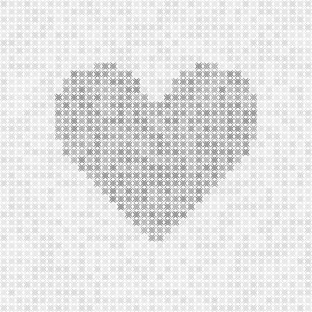 灰色の抽象的なグリッド ベクトルを中心に-白い背景に暗い部分と明るい緑色の図形 写真素材 - 81497427