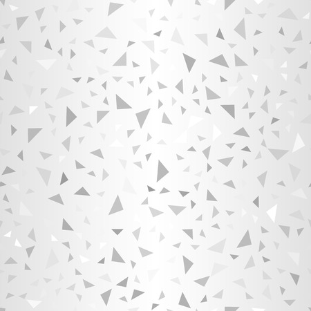 Glowing right triangle pattern. Seamless vector background - gray right triangles on gradient backdrop
