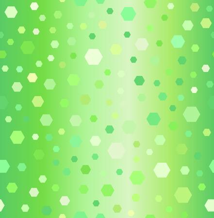 Hexagon pattern illustration.
