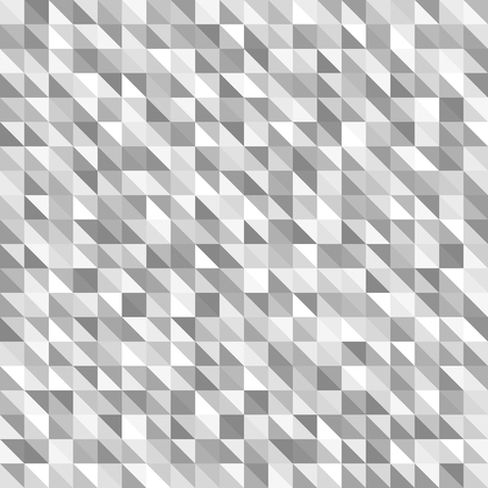 arsenic: Gray right triangle pattern. Seamless vector background with gray, silver and white right triangles