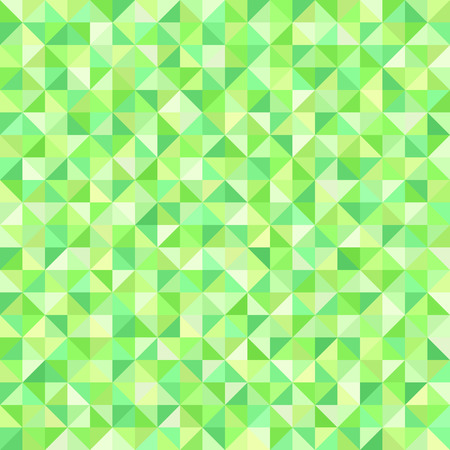 A seamless vector background with green right triangles. Illustration
