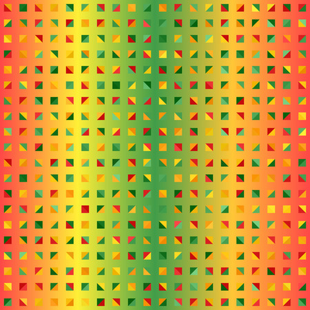 Multi color geometric pattern