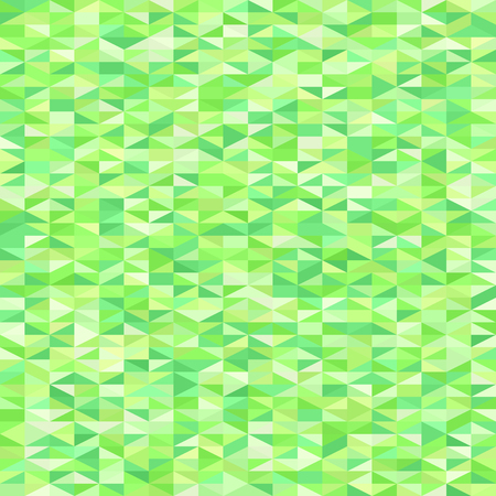 A triangle pattern. A seamless vector background with green right triangles. Illustration