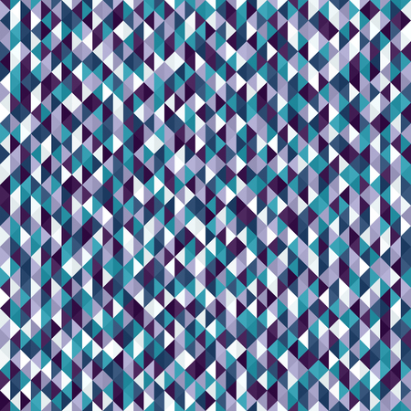 Triangle pattern. Seamless vector background with amethyst, blue, green, lavender, purple, teal, white triangles