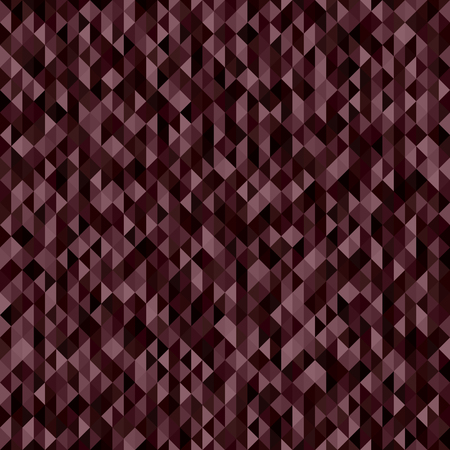 Triangle pattern. Seamless vector background with burgundy, rose, garnet, maroon triangles Illustration