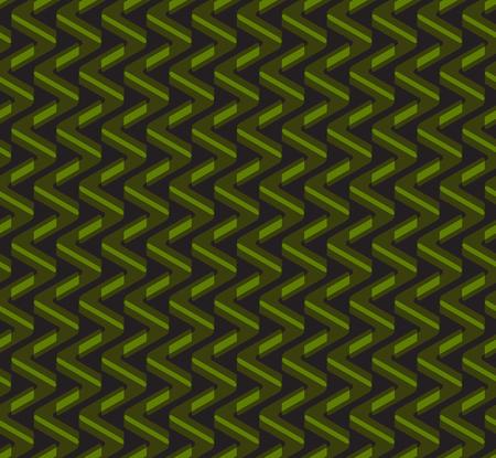 Abstract geometric zig-zag seamless vector pattern 일러스트