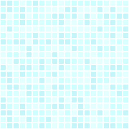 Blue square tiles seamless pattern background.