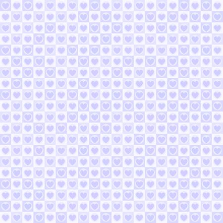 Purple heart pattern design