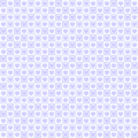 Purple heart pattern design