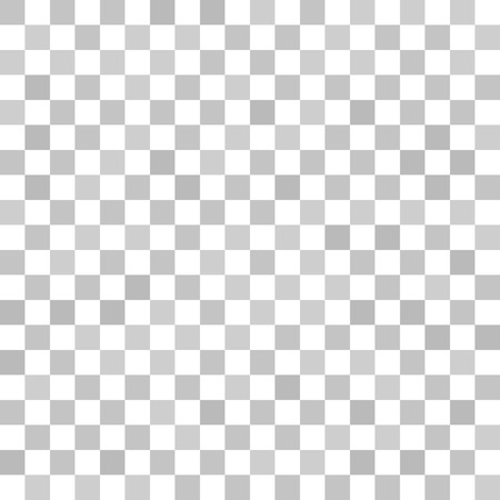 Gray checkered pattern. Seamless vector background - grey squares on white backdrop
