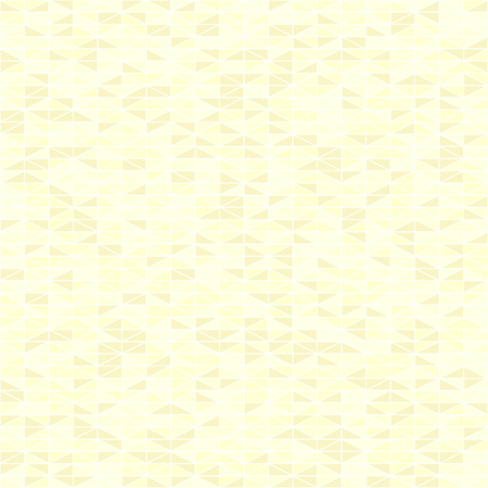 Yellow triangle pattern. Seamless vector background - yellow right triangles on light backdrop Çizim