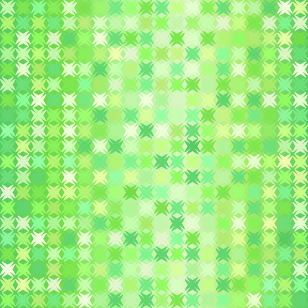 Abstract pattern. Seamless vector background - green shapes on glowing backdrop