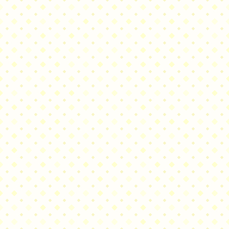 Yellow diamond pattern. Seamless vector background - yellow rounded diamonds of different size on light backdrop