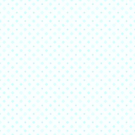 Cyan diamond pattern. Seamless vector background - blue rounded diamonds on light cyan backdrop  イラスト・ベクター素材