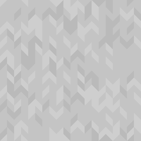 Gray herringbone pattern. Seamless vector parquet background with gray polygons