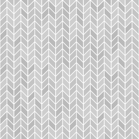 Gray herringone pattern. Seamless vector parquet background - grey polygons on white backdrop