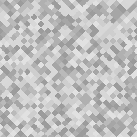 Grey diamond pattern. Seamless vector background with grey, silver and white square diamonds 일러스트