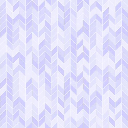 Violet herringbone pattern. Seamless vector background - lilac tetragons on light lavender backdrop