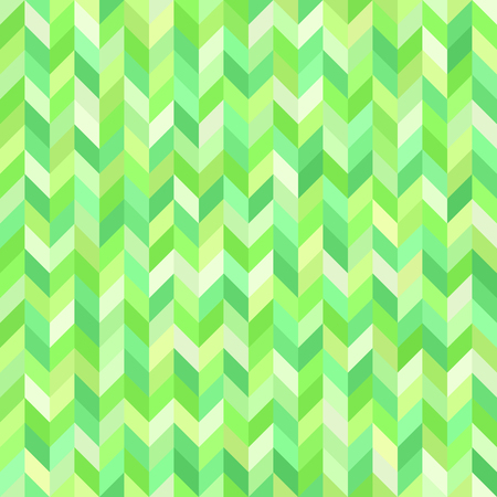 Herringone pattern. Seamless vector background with green polygons