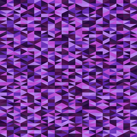 Triangle pattern. Seamless vector background with amethyst, lavender, plum, purple, violet right triangles