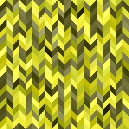 Herringbone pattern. Seamless vector background with yellow, olive, yellow-green, khaki quadrangles