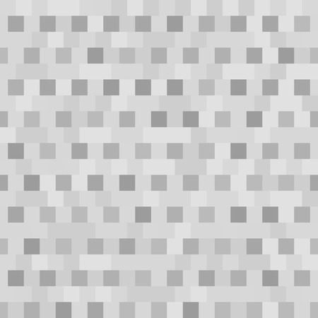 Gray square pattern. Seamless vector background with dark and light grey squares Illustration