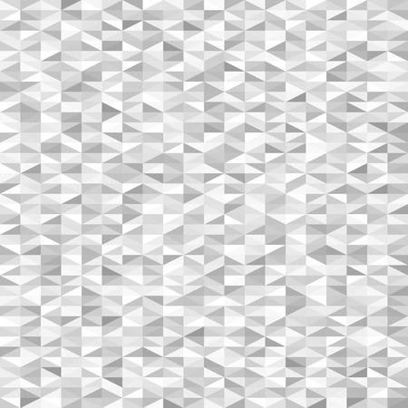 Gray triangle pattern. Seamless vector background with grey, white right triangles Illustration