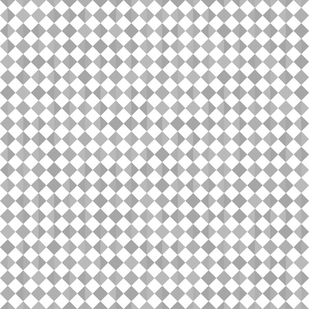 Triangle pattern. Vector seamless geometric background - gray triangles on white backdrop Illustration