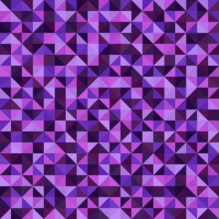 Right triangle pattern. Seamless vector background with amethyst, lavender, plum, purple, violet triangles